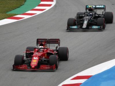 F1, la reazione della Ferrari: vettura solida, Leclerc 4° in crescita