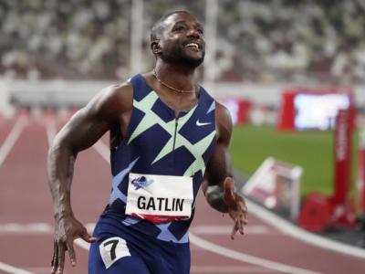 Atletica, testato lo Stadio Olimpico di Tokyo. Gatlin vince i 100 metri, Barshim trionfa nell'alto con 2.30