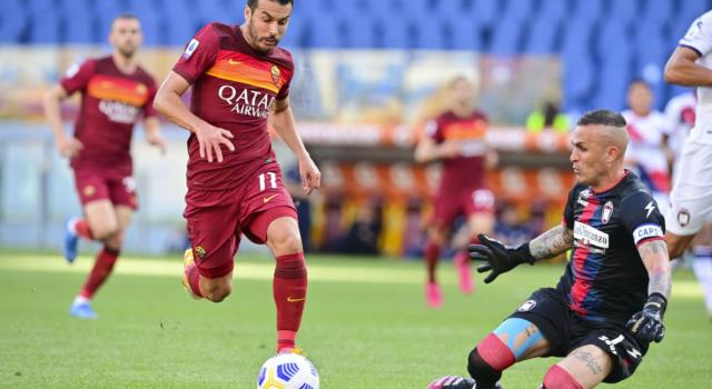 """Serie A 2021, Roma-Crotone 5-0: i giallorossi schiantano gli """"Squali"""" con un secondo tempo travolgente"""