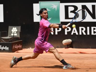 Ultimate Tennis Showdown 4: Fabio Fognini perde nella prima partita dell'esibizione con Medvedev