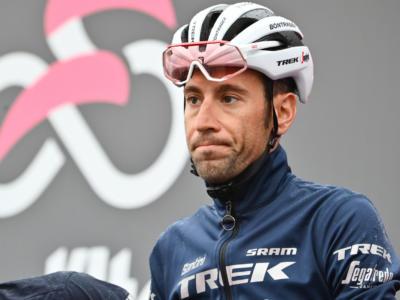 """Giro d'Italia, Vincenzo Nibali: """"Ho patito il freddo, poteva finire peggio. Devo tenere duro"""""""