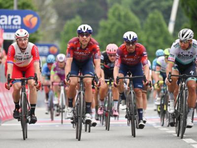 """Giro d'Italia 2021, Davide Cimolai: """"Sono soddisfatto del secondo posto di oggi. Non è facile battere Ewan"""""""