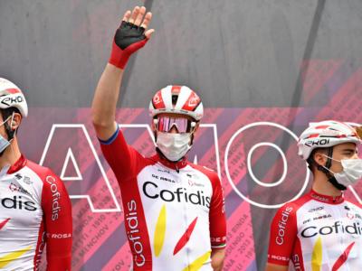 """Giro d'Italia 2021, Elia Viviani: """"Caleb Ewan è stato il più forte oggi. Abbiamo portato a casa un buon risultato"""""""