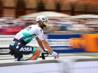"""Giro d'Italia 2021, Peter Sagan: """"E' stato uno sprint per velocisti puri. Nel finale sono stato rallentato da alcuni avversari"""""""