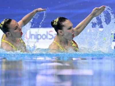 Nuoto artistico, Europei: l'Ucraina trionfa nel programma libero a squadre. Israele storica terza