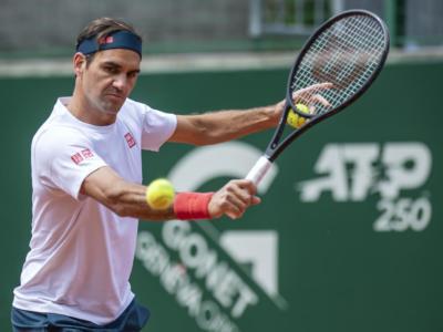 Tennis, ATP Ginevra: Andujar batte Federer. Avanti Fognini e Cecchinato. Si ritira Travaglia