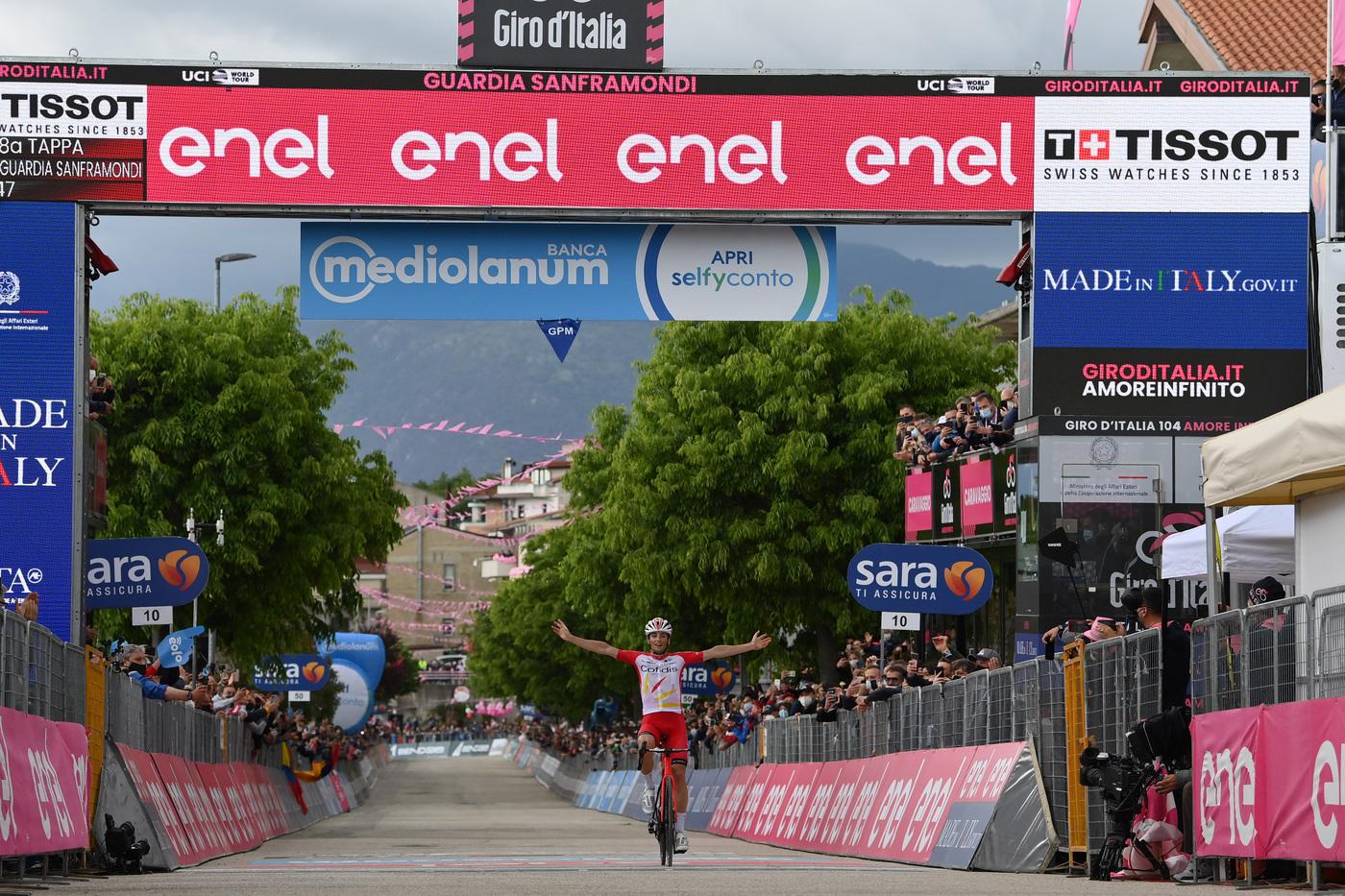Giro d'Italia 2021, pagelle di oggi: dominio per Lafay, bene Gavazzi e Carboni. Delude Hindley