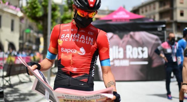 """Giro d'Italia 2021, Damiano Caruso: """"So di avere una grande opportunità e voglio approfittarne"""""""