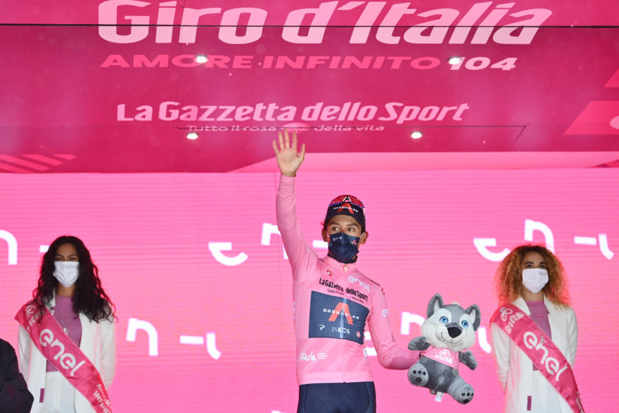 """Classifica Giro d'Italia 2021, nona tappa: Bernal maglia rosa, 4° Ciccone, 7° Caruso, Nibali a 2'12"""""""