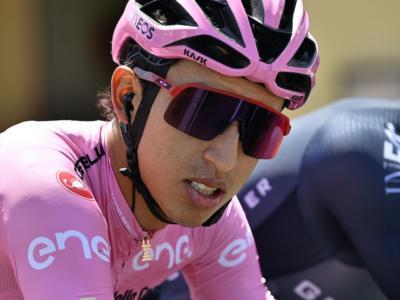 """Giro d'Italia 2021, Egan Bernal: """"Oggi è stata una giornata tranquilla. Domani sarà battaglia"""""""