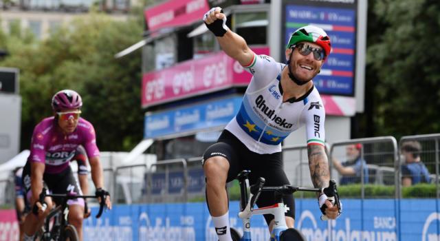 VIDEO Giacomo Nizzolo vince al Giro d'Italia! Volata magistrale del Campione d'Europa, primo successo!