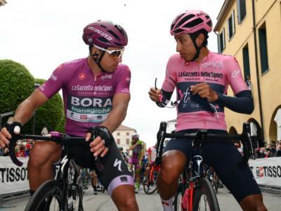 """DIRETTA Giro d'Italia 2021 LIVE: risale Ciccone. Magrini: """"Bernal è un uomo, può avere la giornata storta"""""""