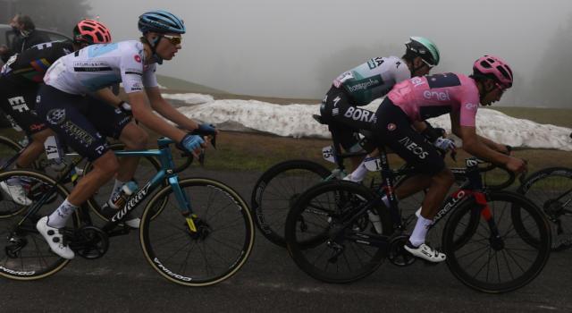 Giro d'Italia 2021, Sacile-Cortina d'Ampezzo: previsioni meteo di oggi. Rischio nevischio sul Passo Giau!