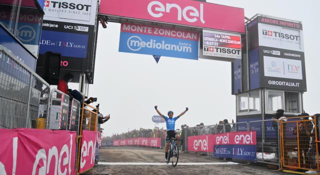 Giro d'Italia 2021, la classifica per nazioni relativa alle tappe vinte. Italia prima con quattro successi