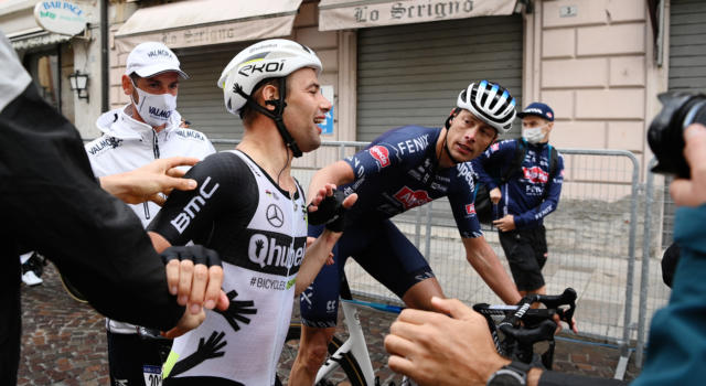 Giro d'Italia 2021, pagelle quindicesima tappa: Campenaerts show, bene Consonni
