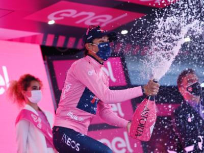 """Classifica Giro d'Italia 2021, 16ma tappa: Caruso 2° a 2'24"""" da Bernal! Ciccone a 51″ dal podio, 15° Nibali"""