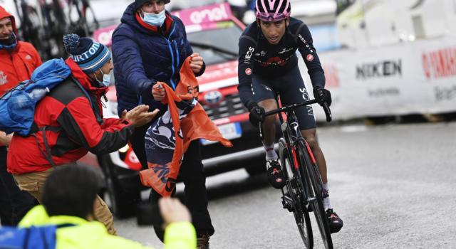 Giro d'Italia 2021: Egan Bernal ipoteca il Trofeo Senza Fine a Cortina d'Ampezzo, eccezionale Damiano Caruso