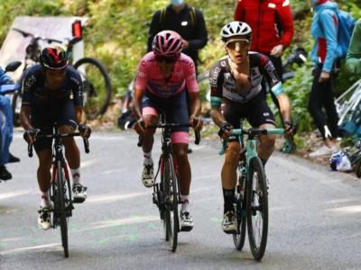 """DIRETTA Giro d'Italia 2021 LIVE: Bernal si salva, 2° Caruso. Magrini: """"Mi aspetto un'unghiata da Nibali"""""""