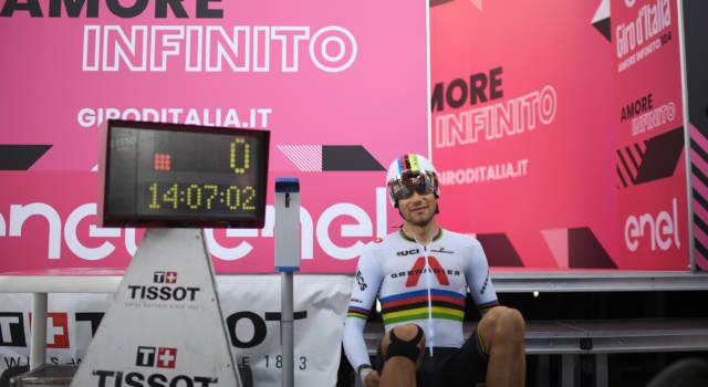 Giro d'Italia 2021, Filippo Ganna conquista il Trofeo Bonacossa