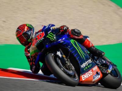 """MotoGP, Fabio Quartararo: """"Era un giro buono, ma nel secondo run ho trovato la bandiera gialla. Importante la pole position"""""""