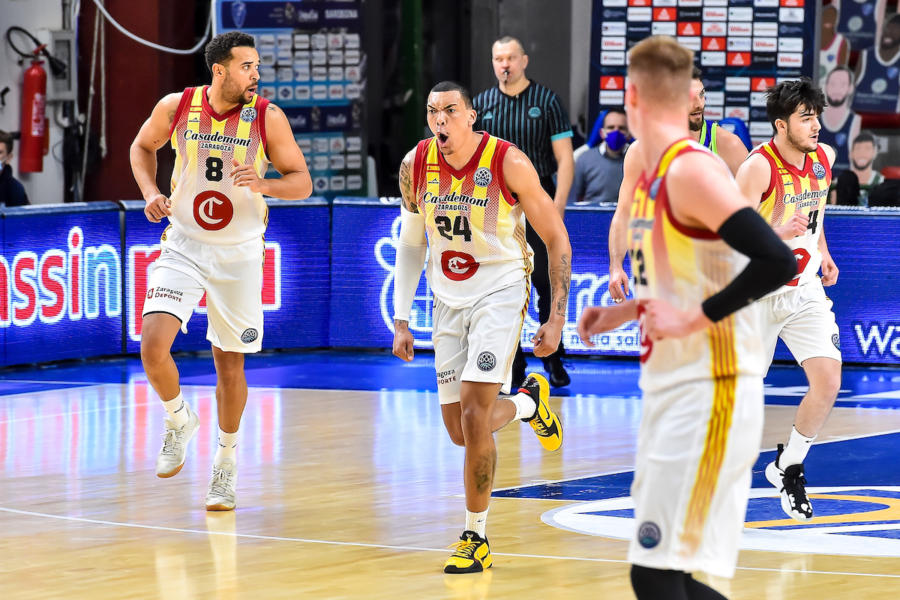Basket, Champions League 2021: Saragozza e Pinar in semifinale, battute Novgorod e Nymburk