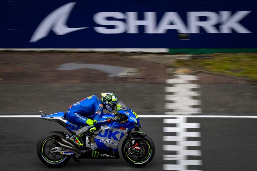 """MotoGP, Joan Mir: """"Sono stato sfortunato in Q1. Domani firmo per la top5, sul bagnato mi sento bene"""""""