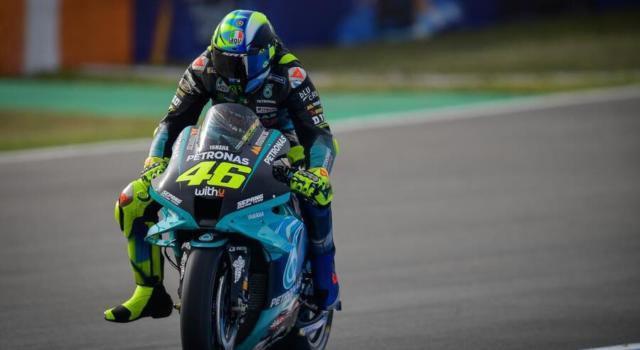 """VIDEO MotoGP, Valentino Rossi: """"Buona giornata, abbiamo fatto diverse prove"""""""