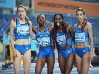 Atletica, World Relays 2021: Italia giù dal podio con le 4×400. Uomini quarti, donne quinte