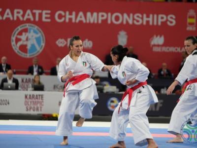 Karate, Premier League Lisbona 2021: la squadra di kata femminile combatterà per l'oro