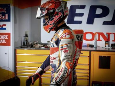 """MotoGP, Marc Marquez: """"Sto bene dopo la caduta, ma ho sbagliato gomma. Ho scelto la soft per sicurezza invece della media"""""""