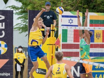 Beach volley, Europei Under 22. Ahman/Hellvig e Bocharova/Voronina: grandi firme a Baden