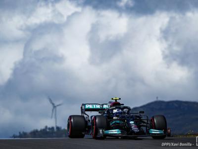Griglia di partenza F1, GP Portogallo 2021: Bottas in pole, 5° Sainz, Leclerc in quarta fila