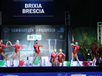 Ginnastica, la Brixia vince il 19° Scudetto. Fate imperiali: Giorgia Villa e Alice D'Amato al top, torna Elisa Iorio