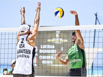 Beach volley, World Tour 2021 Cancun. Statunitensi troppo forti: quarto posto per Carambula/Rossi, ma Tokyo si avvicina