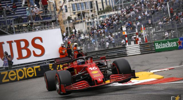 VIDEO F1, GP Monaco 2021: Charles Leclerc non va in pista, il momento del forfait