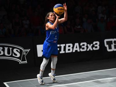 Basket 3×3: Italia, le convocate per il raduno di Roma. In 8 per i quattro posti al Preolimpico di Graz