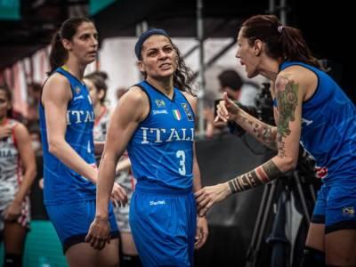 Basket 3×3 femminile: Italia, per le Olimpiadi dopo Graz resta Debrecen