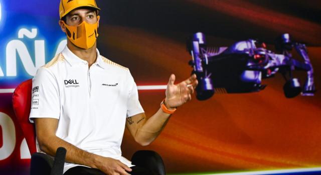 """F1, Daniel Ricciardo: """"Buon settimo posto, il mio rapporto con Norris? La gente parla troppo…"""""""