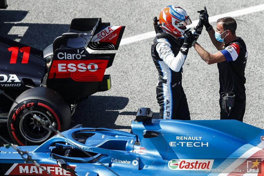 """F1, Esteban Ocon: """"Ho ottime sensazioni con l'Alpine qui a Barcellona, possiamo fare bene in gara"""""""