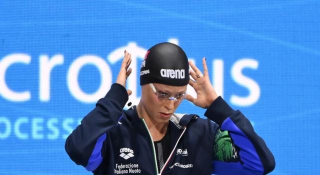 """Federica Pellegrini bronzo con la 4×100 misti: """"Volevo dare onore alla staffetta. Dormo 11 ore per recuperare"""""""