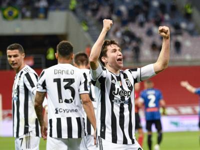 Calcio, Finale Coppa Italia 2021: Juventus-Atalanta 2-1, Kulusevski e Chiesa decisivi nella sfida del Mapei Stadium