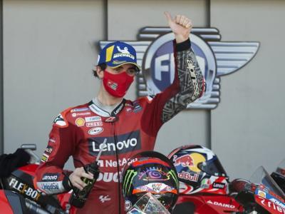 """MotoGP, Francesco Bagnaia: """"Stiamo lavorando bene, Quartararo primo rivale, Rossi tornerà in Top-5"""""""