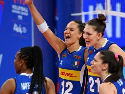 Volley femminile, Italia-Russia Nations League: programma, orario, tv, streaming