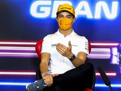 """F1, Lando Norris: """"Una gara complicata, me la sono rovinata con le qualifiche di ieri""""."""