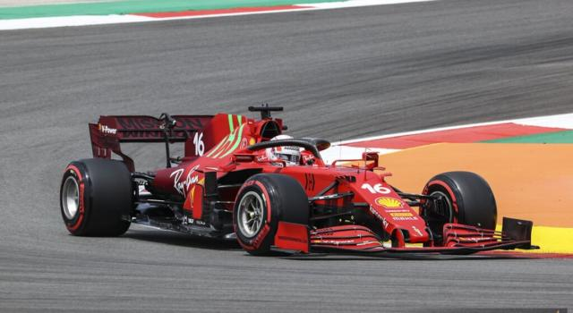 """DIRETTA F1, GP Portogallo LIVE: che Ferrari anonima! Leclerc: """"Colpa mia"""". Sainz: """"Il potenziale c'era"""""""