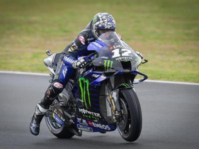 """MotoGP, Maverick Vinales: """"Un errore mi è costato la gara, peccato perchè sull'asciutto andavo bene…"""""""