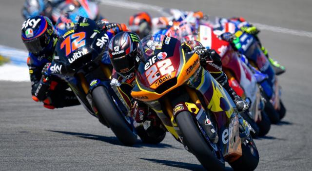 LIVE Moto2, GP Italia 2021 in DIRETTA: Sam Lowes detta il passo, bene Bezzecchi, Arbolino e Di Giannantonio