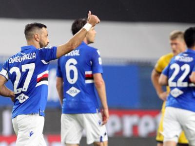 Calcio, Serie A 2021: tris della Sampdoria, vittoria esterna del Genoa e pari tra Crotone e Fiorentina
