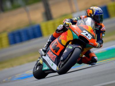 Moto2, risultato qualifiche GP Francia 2021: Marco Bezzecchi è secondo alle spalle di Raul Fernandez, indietro Gardner e Lowes