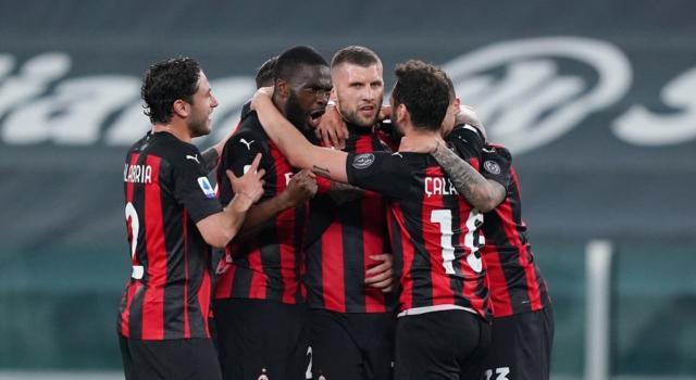Calcio, tris del Milan all'Allianz Stadium e Juventus sconfitta